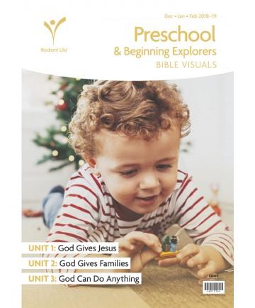 Preschool / Beginning Explorers Bible Visuals Winter