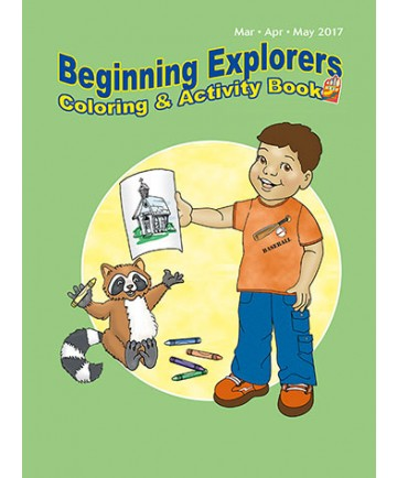 Beginning Explorers Coloring & Activity Book / Spring