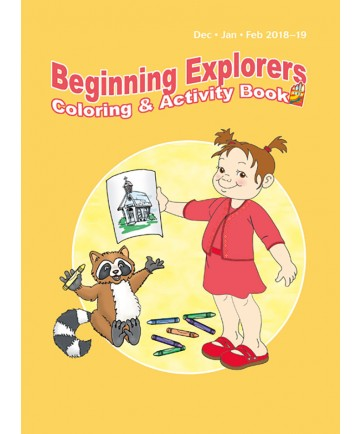 Beginning Explorers Coloring and Activity Book