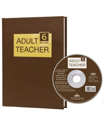 Adult Teacher Volume 6 & CD-ROM 2018-2019