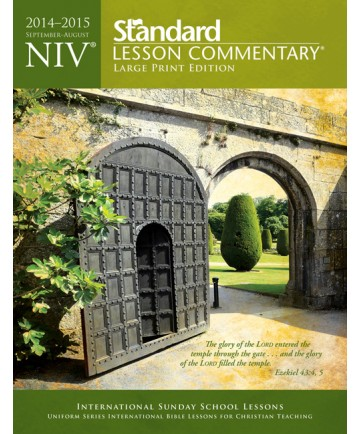 NIV Standard Lesson Commentary  Large Print