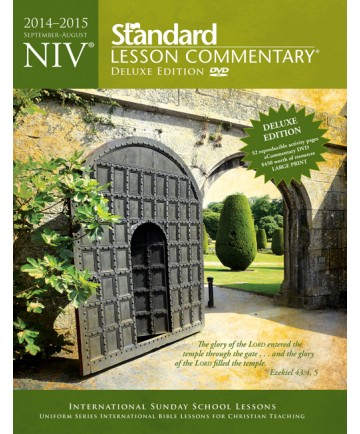 NIV ®Standard Lesson Commentary® Deluxe Edition 2014-2015