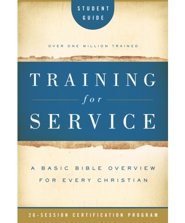 Training for Service Student Book