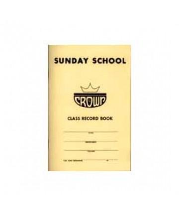 Crown 6 pt Sunday School Classbook