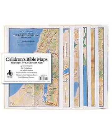Childrens Bible Map Set-6