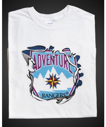 Adventure Rangers White T-Shirt A3XL