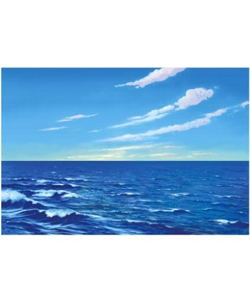 Betty lukens Flannelgraph Large Water & Sky Background