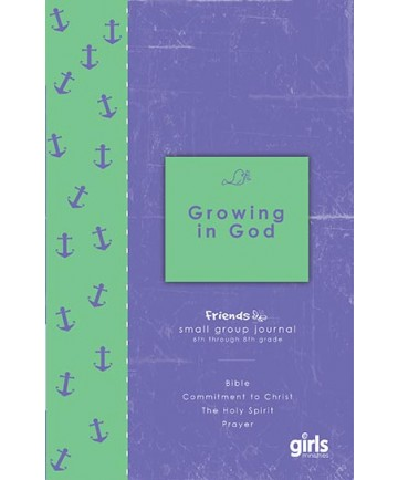 Friends Growing in God: Journal Page Booklets