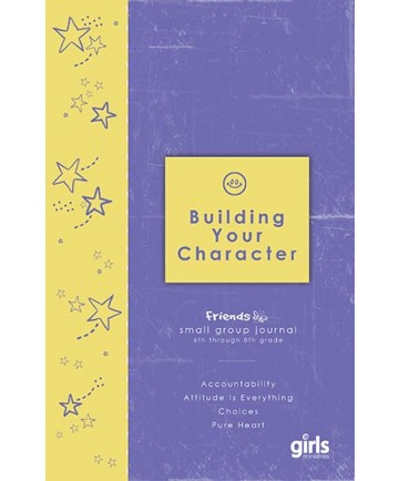 Friends Building Your Character: Journal Page Booklets