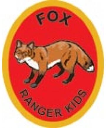 Ranger Kids Advancement Patch/ Fox
