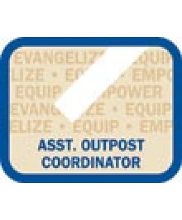 LO Insignia/ Assistant Outpost Coordinator Patch
