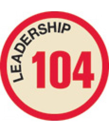 Leadership 104 Merit Patch (Red)