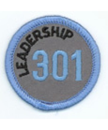 Leadership 301 Merit Patch (Blue)