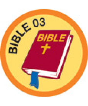 Bible Merit #3-Orange