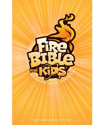 Fire Bible for Kids Hardcover NKJV