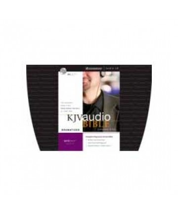 KJV Complete Bible Dramatized Audio CD