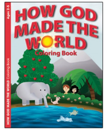 How God Made the World Coloring Book