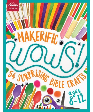 Maker-Ific WOWS!: 54 Surprising Bible Crafts (Ages 8-12)
