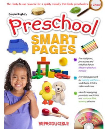 Preschool Smart Pages with CD-ROM
