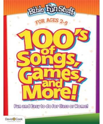 100's of Songs, Games, and More for Preschoolers