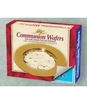 Communion Wafer  Round