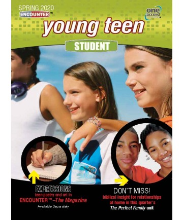 Young Teen Student / Spring