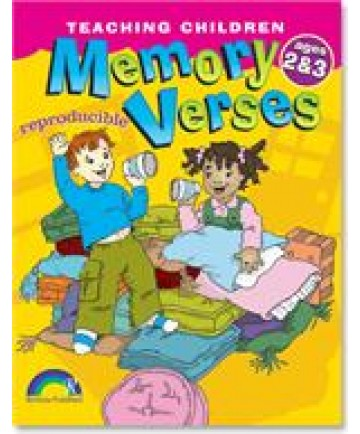 Teaching Children Memory Verses: Ages 2-3