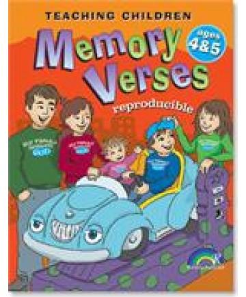 Teaching Children Memory Verses: Ages 4-5