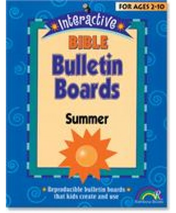 Interactive Bible Bulletin Boards: Summer