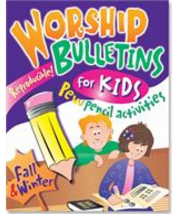 Worship Bulletins for Kids: Fall and Winter