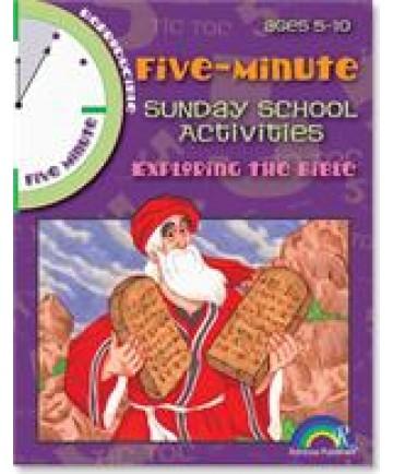 Five Minute Sunday School Activities, Exploring the Bible