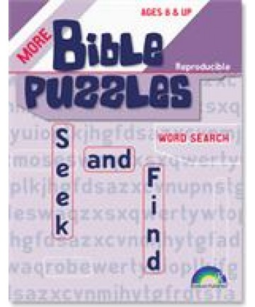 More Bible Puzzles, Seek and Find