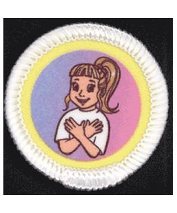 Daisies Unit Badges. Loving