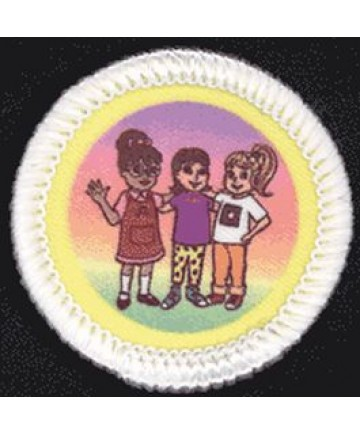 Daisies Unit Badges. Respecting