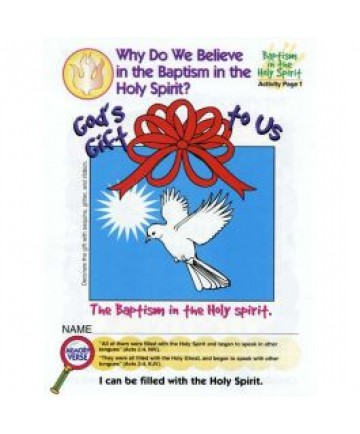 Prims Activity Page/Baptism In Holy Spirit