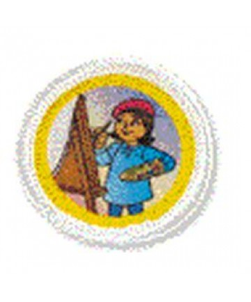 Daisies Unit Badges. Creating