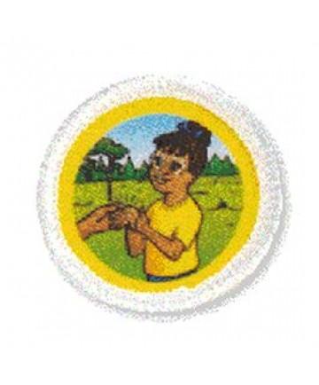Daisies Unit Badges. Healing