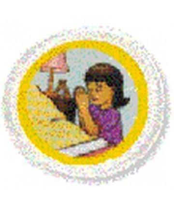 Daisies Unit Badges. Praying