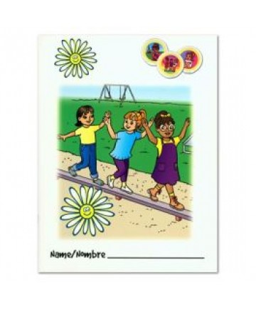 Daisies Activity Book Folder