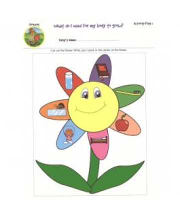 Daisies Unit Activity Pages. Growing
