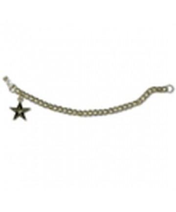 Bracelet and Star Emblem Charm