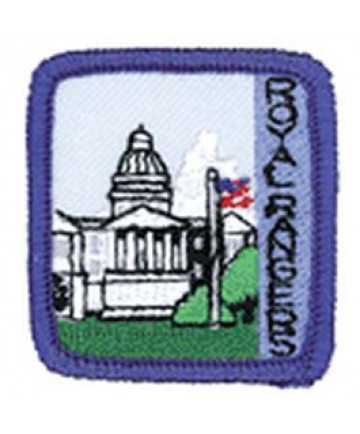 Ranger Kids Achievement Patch Government