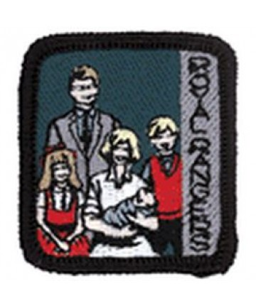 Ranger Kids Achievement Patch Family History