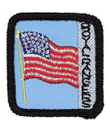 Ranger Kids Achievement Patch Flag