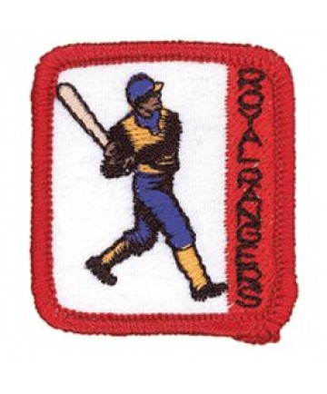 Ranger Kids Achievement Patch Sporting Event