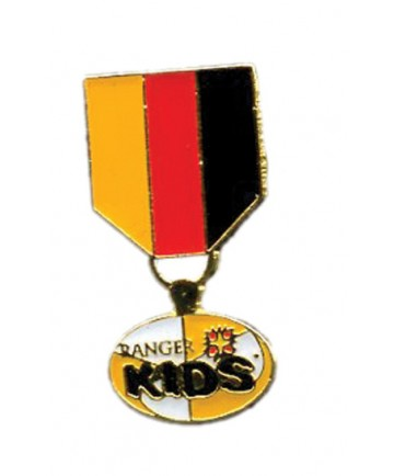 Ranger Kids Gold Trail Award Hat Pin
