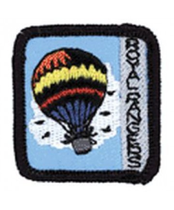 Ranger Kids Acheivement Patch In the Air