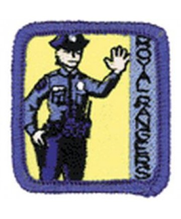 Ranger Kids Achievement Patch Keeper of the Law