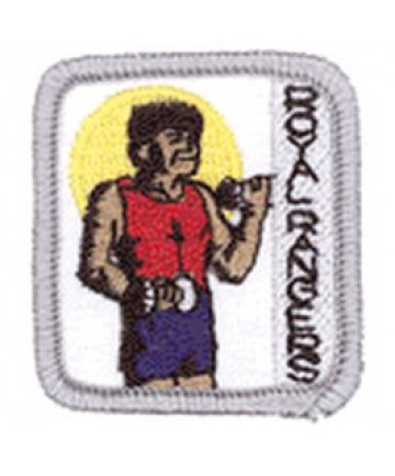 Ranger Kids Achievement Patch Strong Body