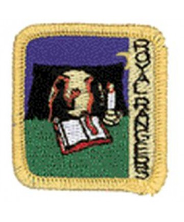 Ranger Kids Achievement Patch Telling Others About Jesus